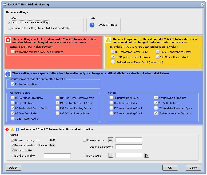 Argus Monitor screenshot